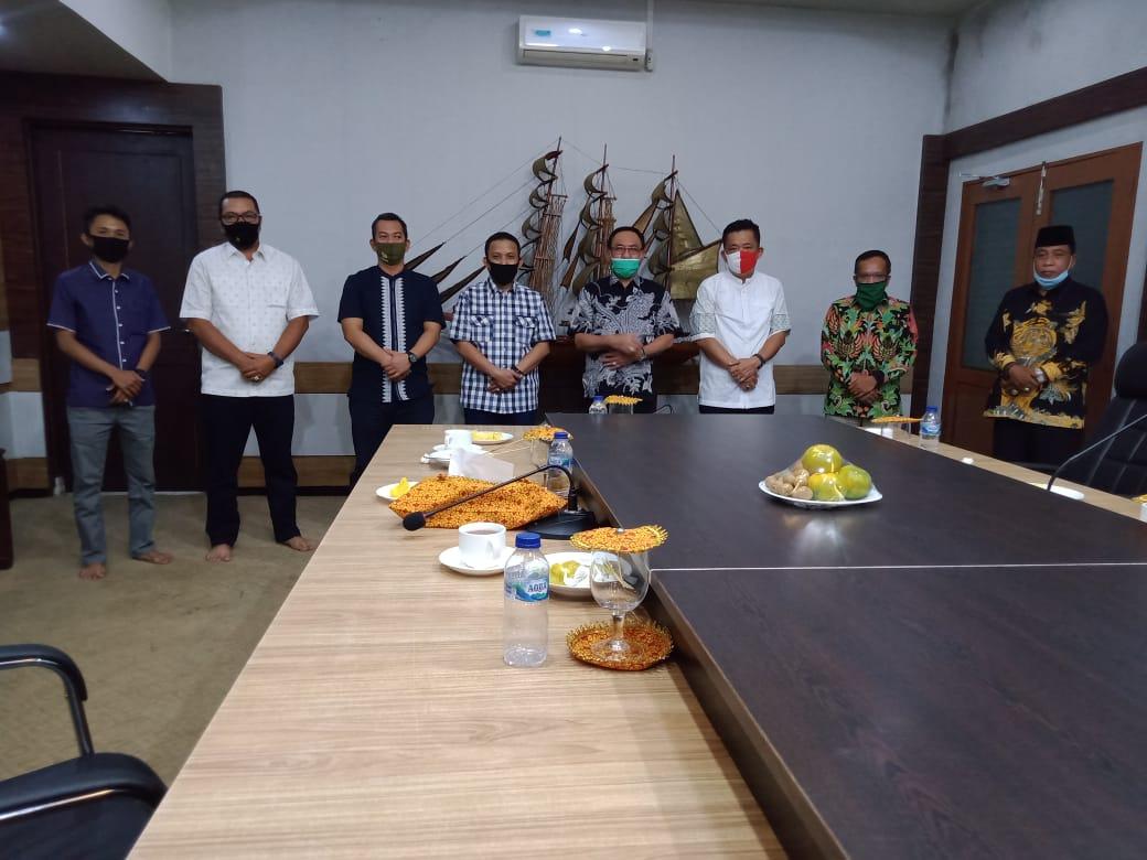 Bupati Wardan Terima Kunjungan Ketua DPC PKB Inhil