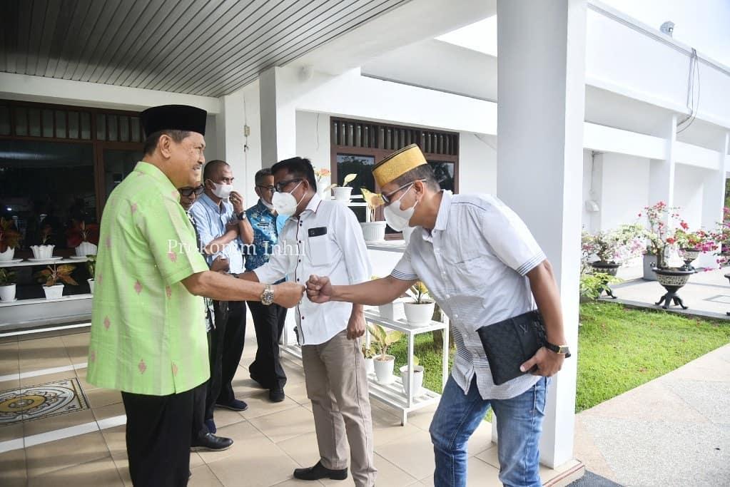 Pemkab Inhil Gelar Jamuan Sarapan Pagi Bersama Ketua DPP KKSS Pusat
