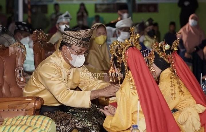 Bupati Inhil Buka MTQ ke 51 Kecamatan Mandah