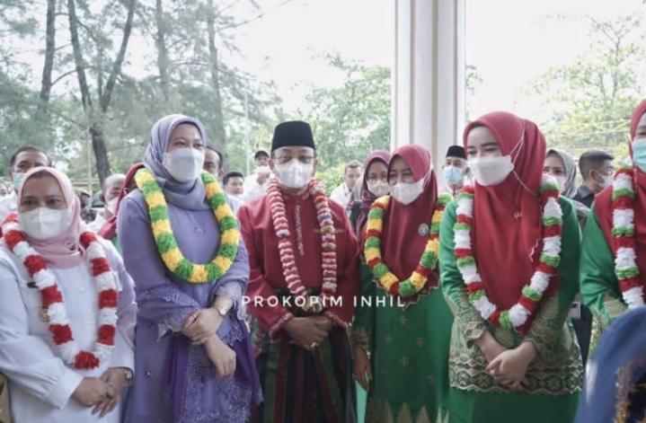 Bupati Inhil Hadiri Pembukaan Porseni IGTKI se-Riau